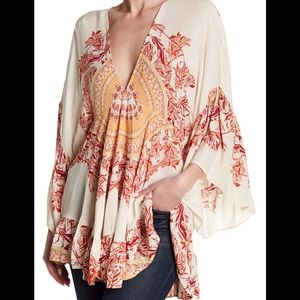 Free People | Sunset Dreams Printed Tunic Top